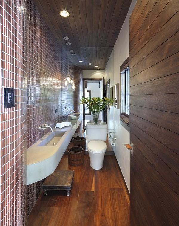 Guest Bathroom - Powder Room Design Ideas: 20 Photos on Bathroom Apartment Ideas  id=59563