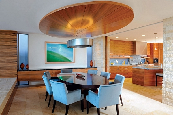 Dining Room Decorating Ideas: 19 Designs that Will Inspire You on Dining Table Ceiling Design  id=59155