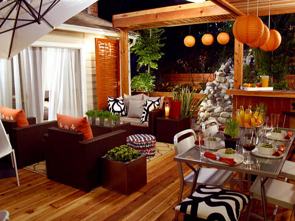 When an atlanta homeowner's decorating screeched to a halt, her sister zoomed in to complete the job. Decorating With Orange: How to Incorporate a Risky Color