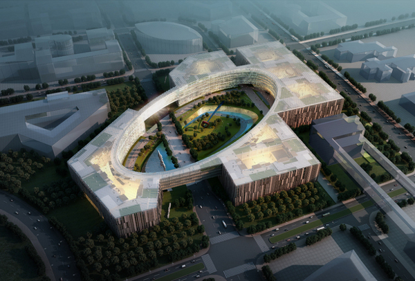 Baidu 1 Baidu Campus proposed in Beijing set to dazzle with green goodness galore