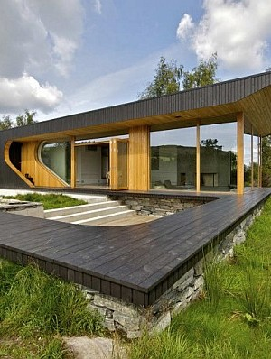 Transparently Swinomish Indian Reserve Cabin Provides A