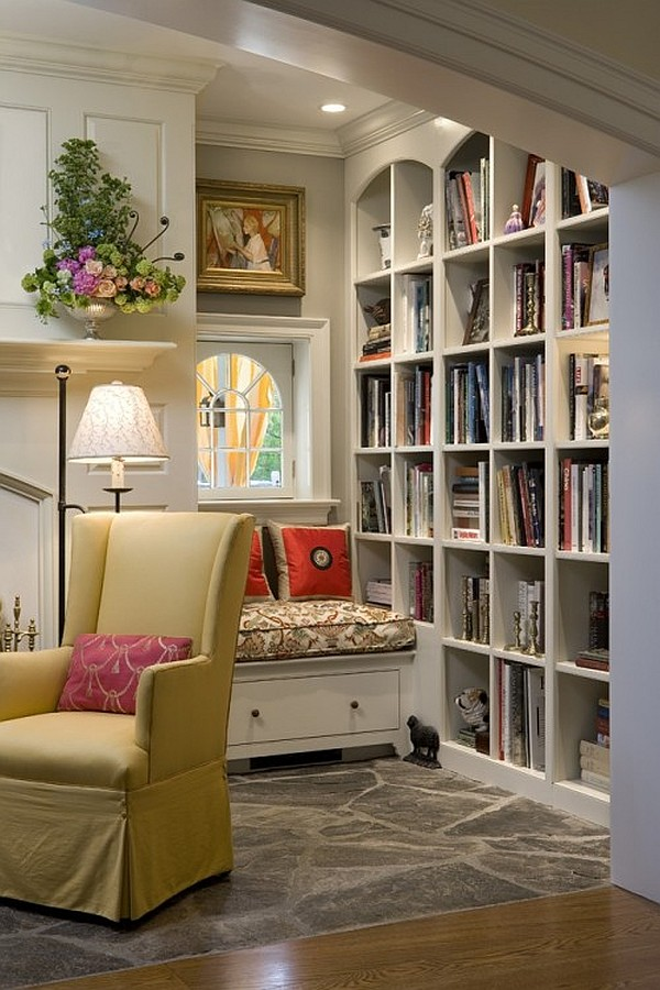 17 Cozy Studying Nooks Design Concepts | Decorations Tree on Nook's Cranny Design Ideas  id=36425