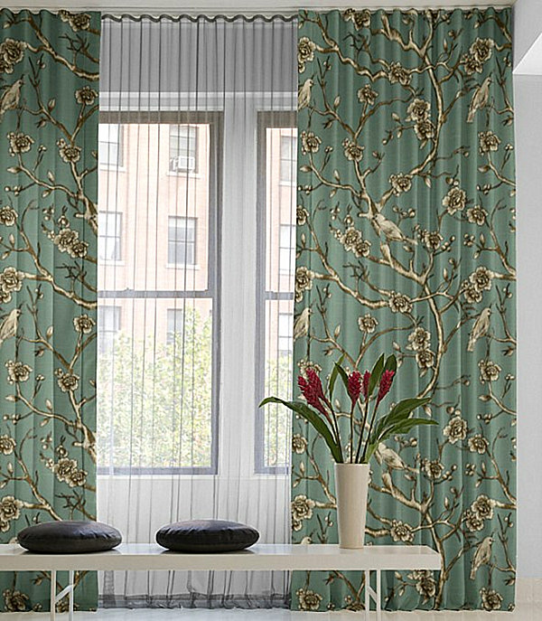 Drapery Ideas for the Modern Home on Draping Curtains Ideas  id=79674