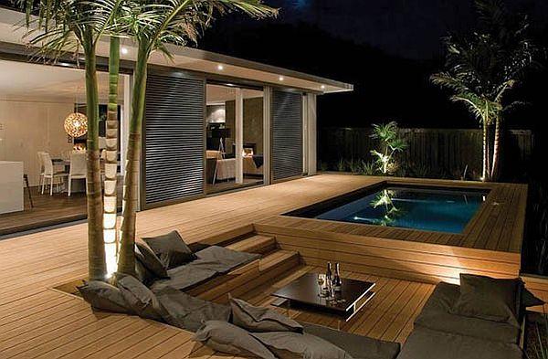 Stunning Unique Decks: 16 Inspirational Ideas on Modern Back Patio id=38622