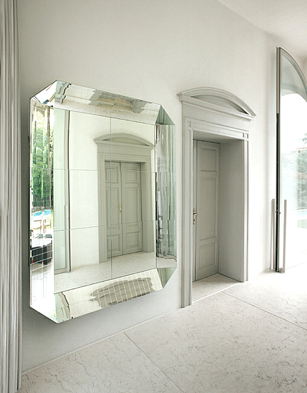 Bathroom pivot mirror