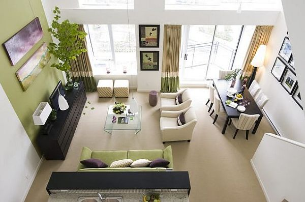 High Quality Garden Inspired Living Room Ideas. Black White Rooms Green ... Part 29