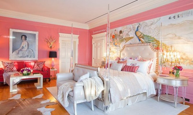 View In Gallery S Bedroom Idea For Those Who Love An Overdose Of Pink