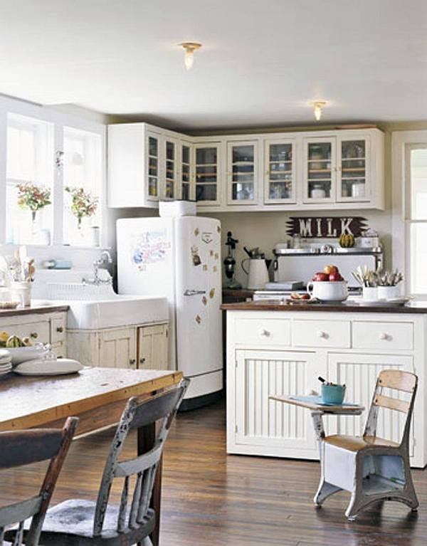 Decorating with a Vintage Farmhouse Inspiration on Farm House Kitchen Ideas  id=68155