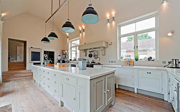 20 Luxurious & Sexy Kitchens Worth Drooling Over on Luxury Farmhouse Kitchen  id=83345