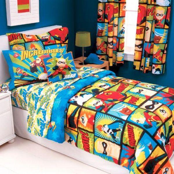 boys bedding 28 superheroes inspired