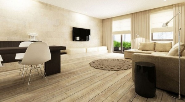 Neutral Interiors For Cool Contemporary Homes From