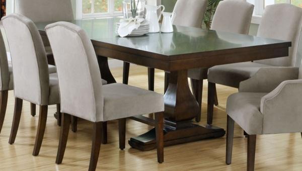 Small Dark Wood Dining Table