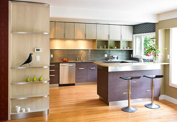 Stainless Steel Kitchen Countertops Are Exquisite and Sturdy on Kitchen Counter Decor Modern  id=52186