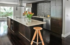 21 Best Dark Floor Kitchen That You Will Be Admired Of