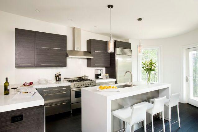Kitchen Remodel: 101 Stunning Ideas for Your Kitchen Design on Modern Kitchen Counter Decor  id=57874