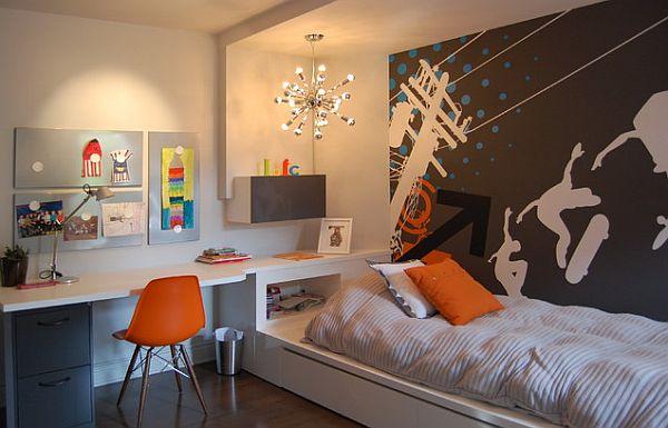 Inspiring Teenage Boys Bedrooms for Your Cool Kid on Teenage Decor  id=31743