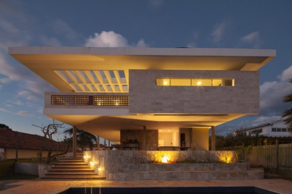 Modern Home In Brazil Exudes Elegance With Stylish