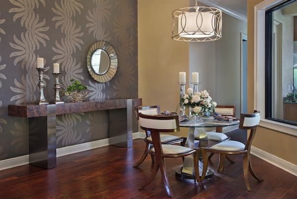 title | Dining room accent wall