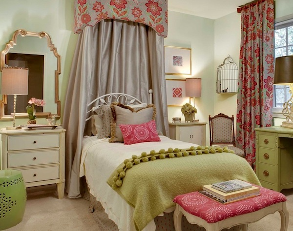 Baby Girls Rooms Ideas With Non-Traditional Colors on Room Girl  id=85501