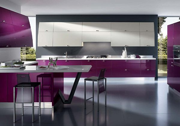 Purple Kitchen Designs Pictures And Inspiration