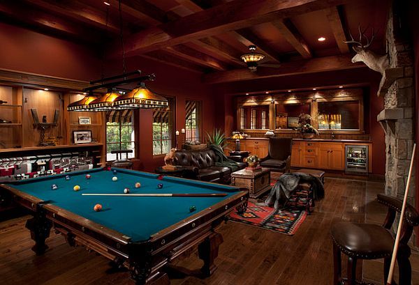 Rec Room Design Ideas For Some Fancy Time At Home