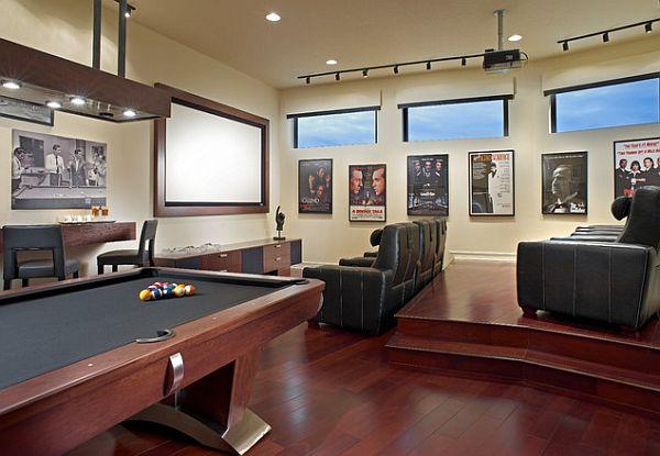 Trendy Ideas Bat Rec Room