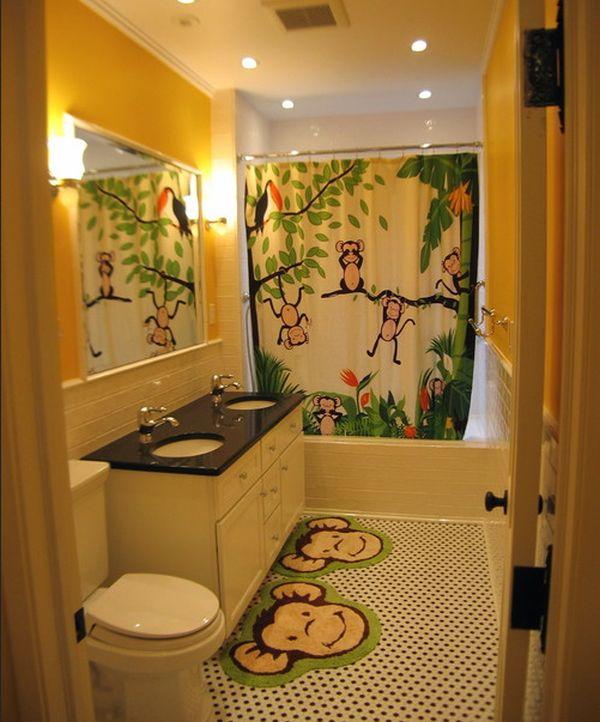 23 Kids Bathroom Design Ideas to Brighten Up Your Home on Fun Bathroom Ideas  id=82398