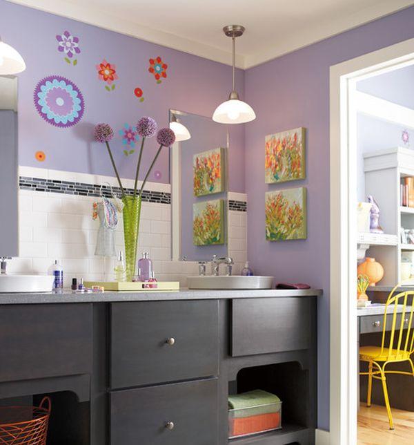 23 Kids Bathroom Design Ideas to Brighten Up Your Home on Fun Bathroom Ideas  id=16375