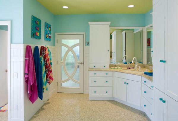 23 Kids Bathroom Design Ideas to Brighten Up Your Home on Fun Bathroom Ideas  id=83496