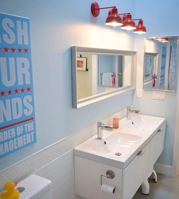 23 Kids Bathroom Design Ideas to Brighten Up Your Home on Fun Bathroom Ideas  id=19493