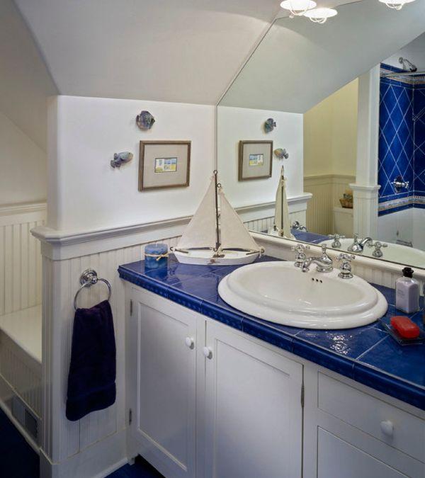 23 Kids Bathroom Design Ideas to Brighten Up Your Home on Fun Bathroom Ideas  id=37369