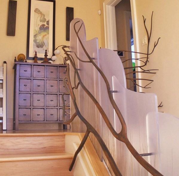 Choosing The Perfect Stair Railing Design Style | Stair Railing Designs Interior | Exterior | Creative | Antique | Scandinavian | Rod Iron