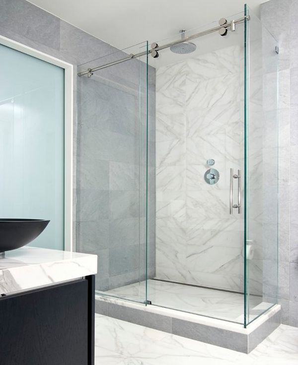 Sliding Door Shower Enclosures For The Contemporary Bathroom