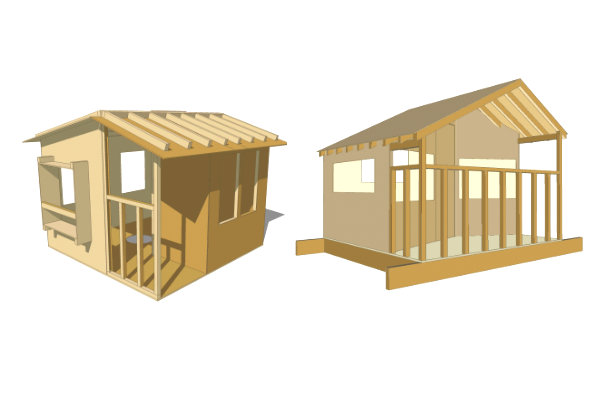 how to build a wooden house pdf