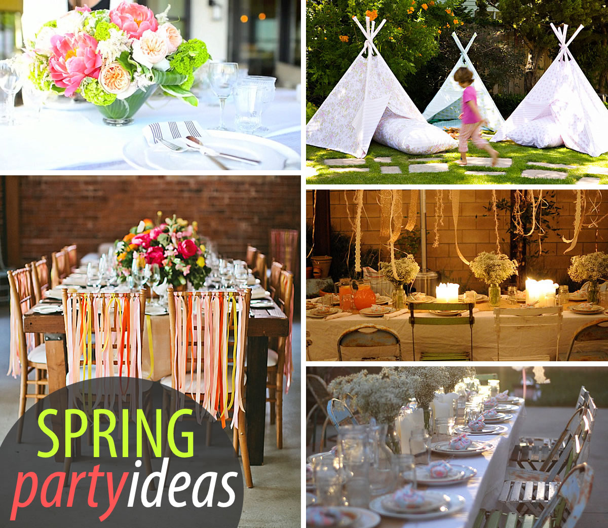 20 Colorful Spring Party Ideas