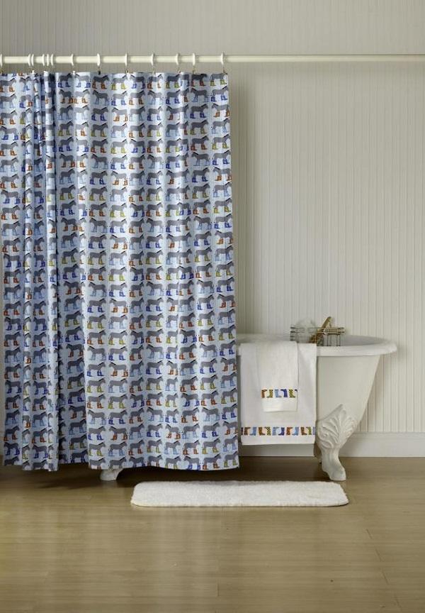 shower curtain diys to revamp your bathroom