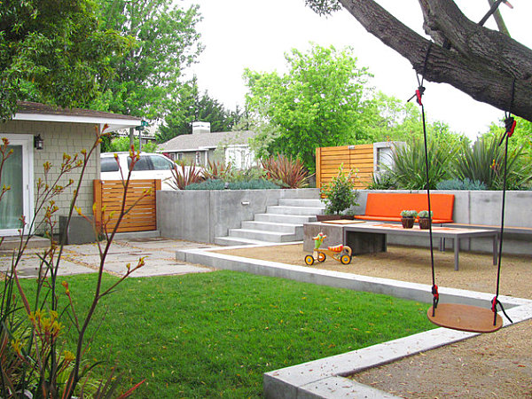 The Art of Landscaping a Small Yard on Contemporary Backyard  id=14176