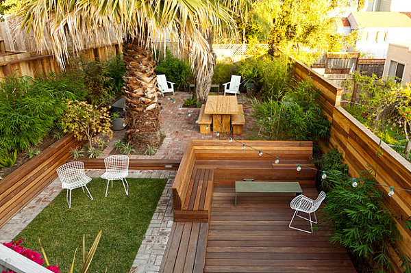 LANDSCAPE DESIGN: Uphill backyard landscaping on Uphill Backyard Ideas  id=64808