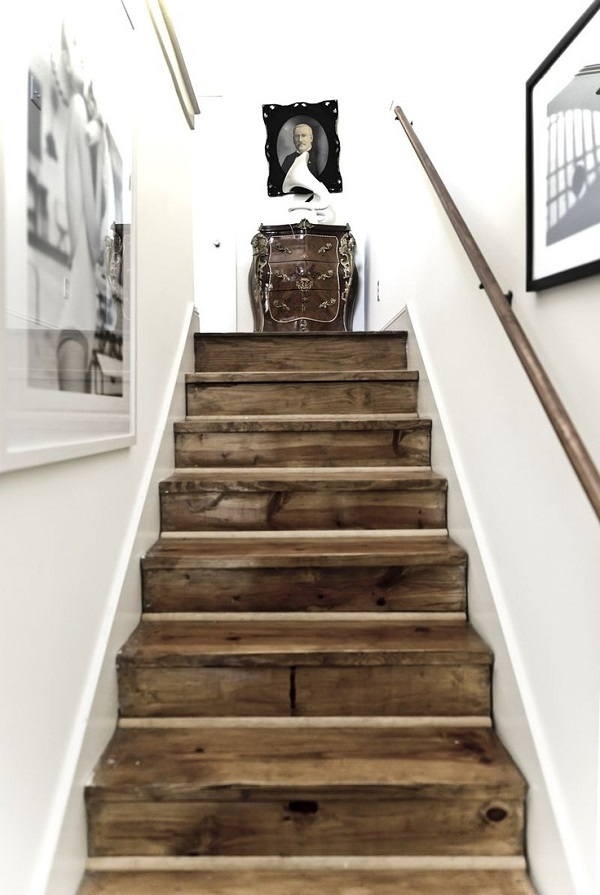 10 Diy Staircase Designs Sure To Amaze   Barn Wood Stair Railing   Industrial   Farmhouse   Wood Plank   Entryway Stair   Upstairs
