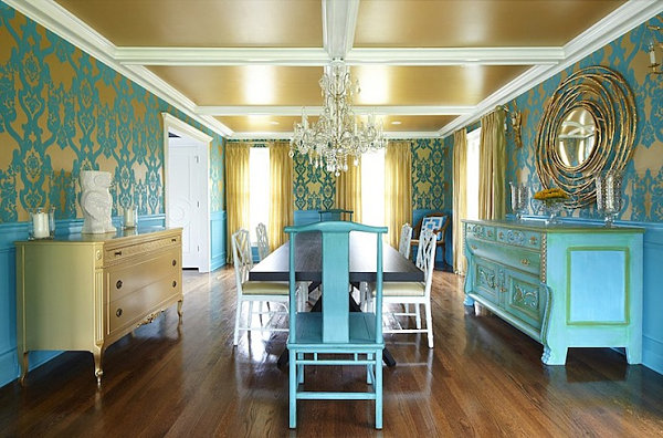 Living Room Yellow Gold Paint Color