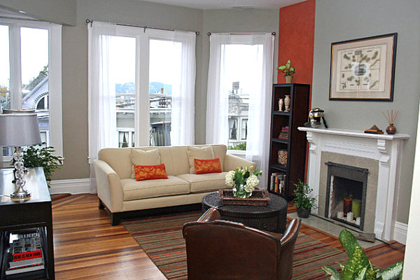 ... Wall Color An Eclectic Living Room. How To Choose Paint Colors And  Strategies Part 36