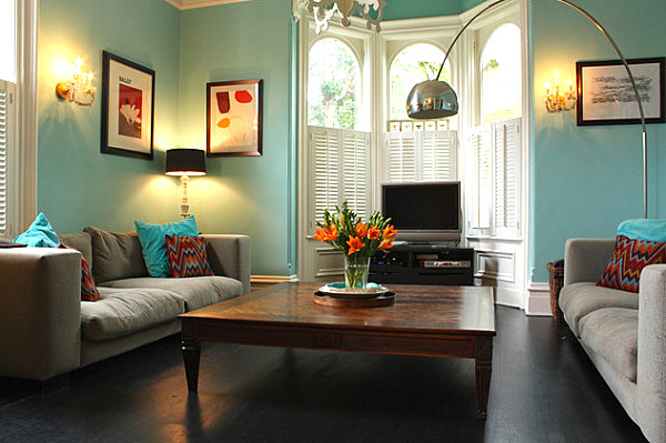 How to Choose Paint Colors and Strategies on Colourful Living Room  id=66556