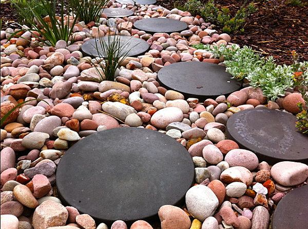 Decorative Rocks Planters