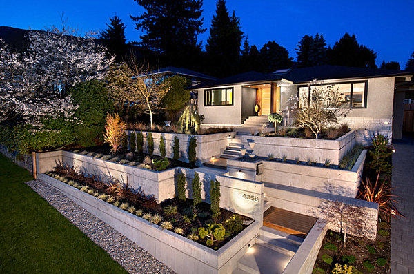 LANDSCAPE DESIGN: Uphill backyard landscaping on Uphill Backyard Ideas  id=68929
