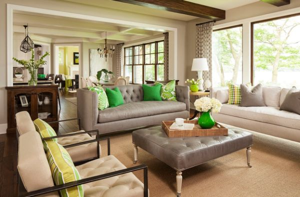 Country living surveyed six top furniture companies to find out which couches are most popular across the country. Accent Couch And Pillow Ideas For A Cool Contemporary Home