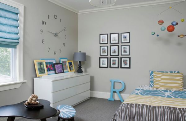 Striking Wall Clocks Can Give Your Home A Timeless And Dynamic Allure. Childrens Bedroom Wall Clocks   Bedroom Style Ideas