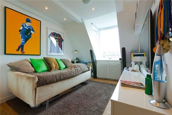 Stylish Stockholm Loft With Classic Scandinavian Interior