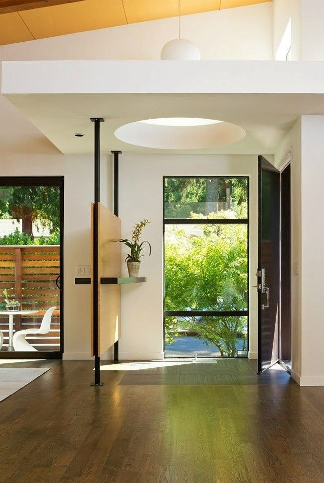 Red Wood Exterior And Ravishing Interiors Shape Portlands Hollcroft Residence
