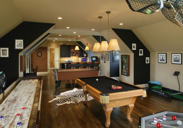 Whether you hope to have one child or six, there's no right or wrong answer when it comes to size. Indulge Your Playful Spirit with These Game Room Ideas