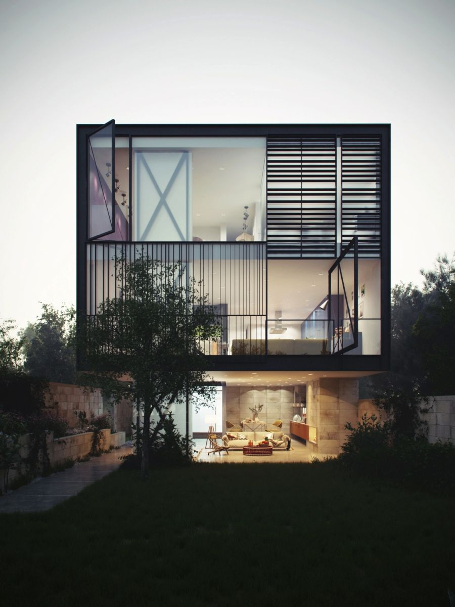 Glass Box Home Blends Audacious Design With Innovative